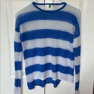 United Colors Of Benetton mesh knit sweater
